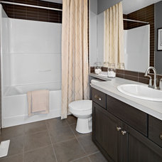 Traditional Bathroom by Homes by Avi