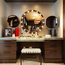 Contemporary Bathroom by Lisa Adams, LA Closet Design