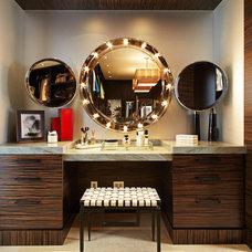 Contemporary Bathroom by Lisa Adams, LA Closet Design