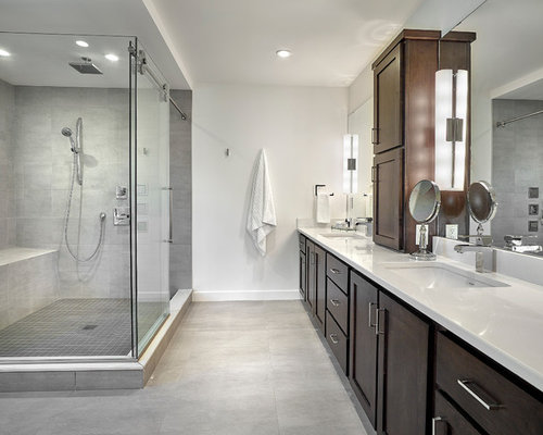 Large edmonton bathroom design ideas renovations photos for Bathroom ideas edmonton