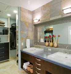 contemporary bathroom by Archipelago Hawaii, refined island designs
