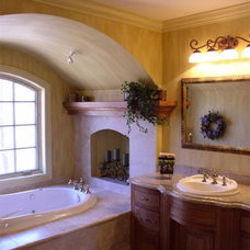 Traditional Bathroom by Architectural Homes by Anders Inc