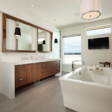Contemporary Bathroom by Best Home Magazine