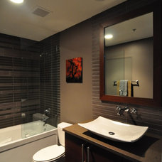 Contemporary Bathroom by Habitar Design