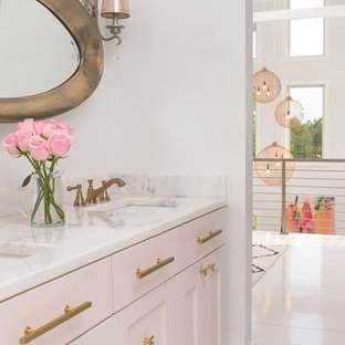 Pink And Gold Bathroom. Emailsave