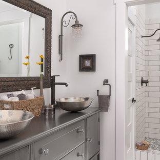 The Farmhouse Master Bathroom- Design by Dawn D Totty Design Jasper Highlands, T