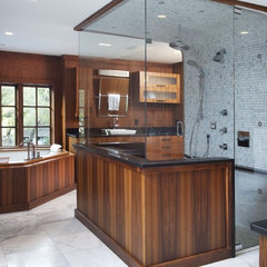 traditional bathroom by Tongue & Groove