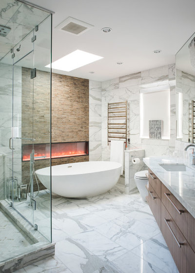 Contemporary Bathroom by Kalu Interiors