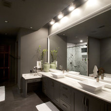 Contemporary Bathroom by The Front Door / Dwayne Carruth