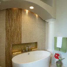Traditional Bathroom by Homework Remodels ~ Tri-Lite Builders