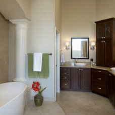 modern bathroom by Homework Remodels ~ Tri-Lite Builders
