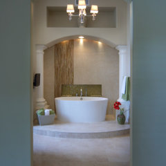 contemporary bathroom by Homework Remodels ~ Tri-Lite Builders