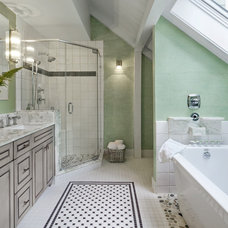 Traditional Bathroom by Yankee Barn Homes