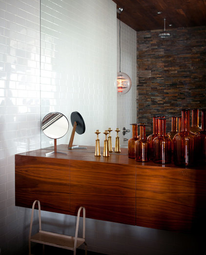 industrial bathroom by studio recreation inc