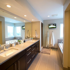 Contemporary Bathroom by Clark Design Associates, LLC.