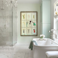Traditional Bathroom by Mitchell Wall Architecture & Design