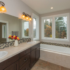 Traditional Bathroom by Curtis Homes