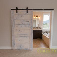 Craftsman Bathroom by Curtis Homes