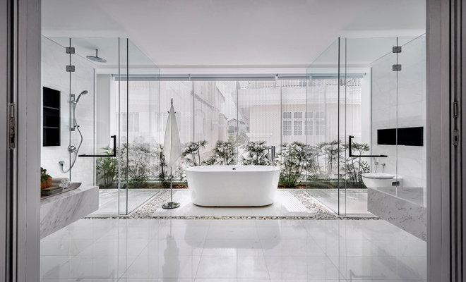 Contemporary Bathroom by Park + Associates
