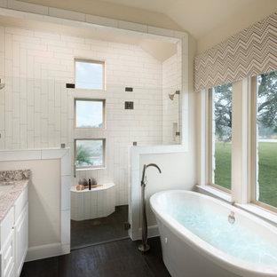 The Grove at Vintage Oaks-New Braunfels, TX- Caporina Model- Master Bath