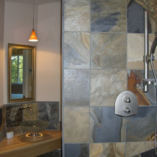 Contemporary Bathroom by Xenia Jordan @ Xenia's Studio