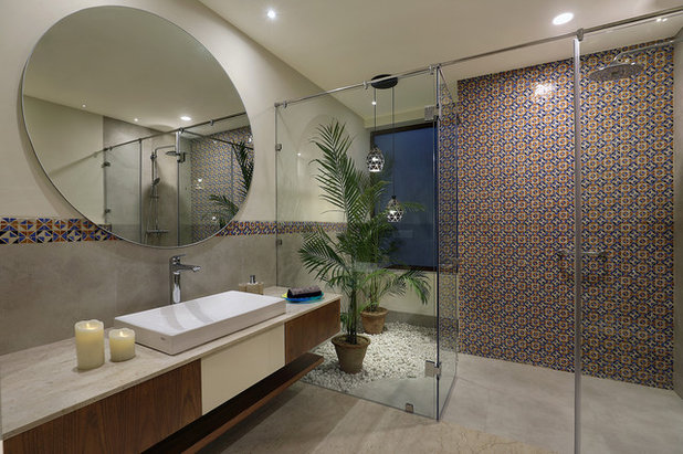 Contemporary Bathroom by Intrigue Designs