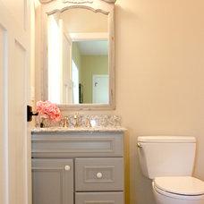Traditional Bathroom by Bria Hammel Interiors
