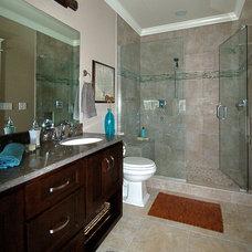 Craftsman Bathroom by McCoy Homes, Inc.