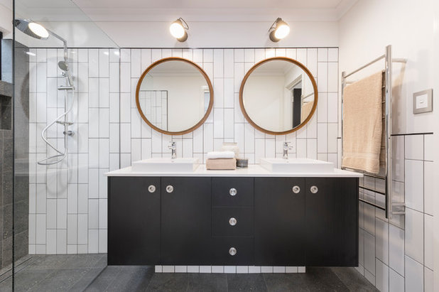 Contemporary Bathroom by WA Country Builders