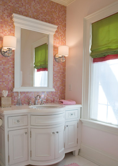 Cool Traditional Bathroom by Carey Mudford Interior Design