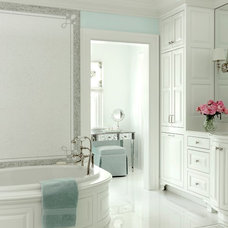 Beach Style Bathroom The Ladue House