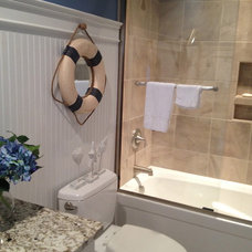 Traditional Bathroom by Total Quality Home Builders, Inc.