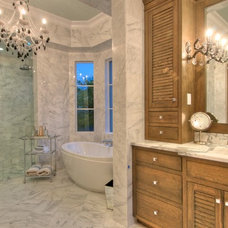 Traditional Bathroom by Chic on the Cheap