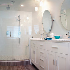 Beach Style Bathroom The Lakehouse