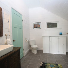 Rustic Bathroom by White Pine Lumber