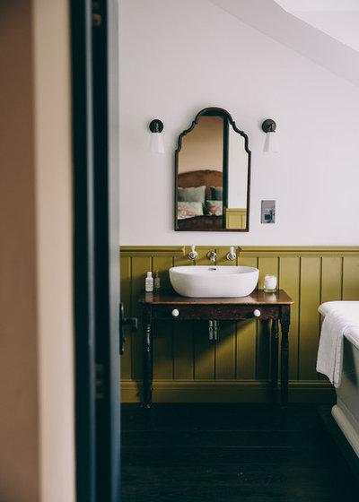 Rustic Bathroom by Field Day Studio
