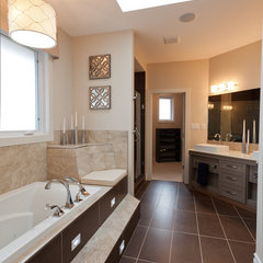 contemporary bathroom by Galko Homes