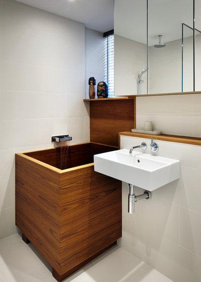 Vuoi la vasca da bagno ma hai poco spazio i consigli del pro - Tinozza da bagno ...