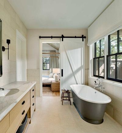 Country Bathroom by Bevan + Associates
