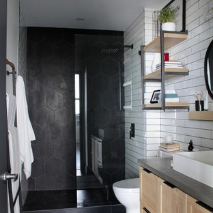 75 Beautiful Black Bathroom Pictures & Ideas | Houzz