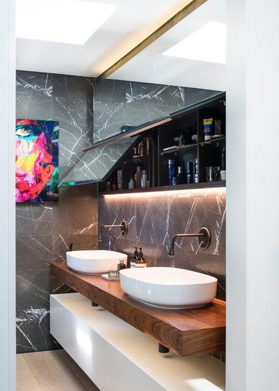 Современный Ванная комната by Minosa | Design Life Better