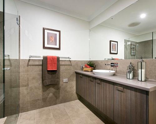 Marri Timber Stairs Kids Bathroom Design Ideas Renovations Photos
