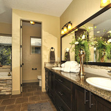 Traditional Bathroom by Boise Hunter Homes
