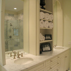 Traditional Bathroom by Greg Mix - Registered Architect