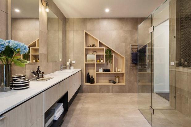 Contemporary Bathroom by Latitude 37