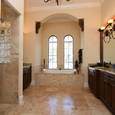 Mediterranean Bathroom by Charles Ayers Construction, Inc.