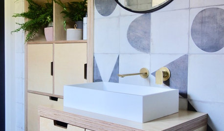 Room Tour: Scandi Tiles and a Clever Layout Transform a Bathroom