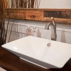 Traditional Bathroom by Axiom Luxury Homes