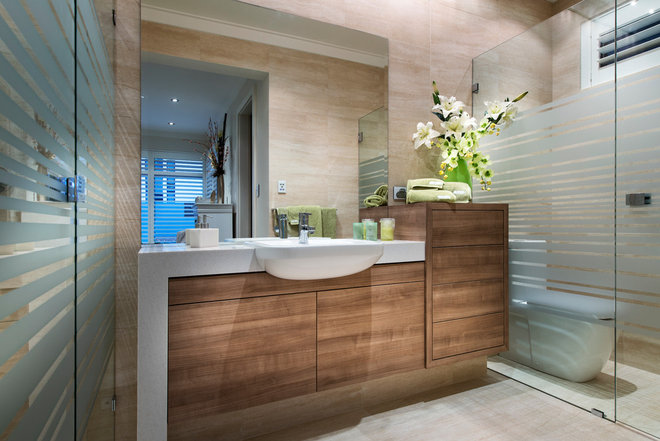 Contemporary Bathroom by Grandwood by Zorzi