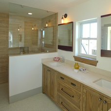 Traditional Bathroom by Modern Bungalow Company